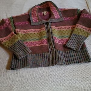 Sundace 100% Lambswool Colorful L Sweater
